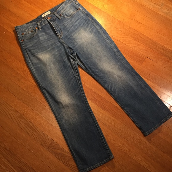 Madewell Denim - Madewell Kick Out Crop Jeans 31